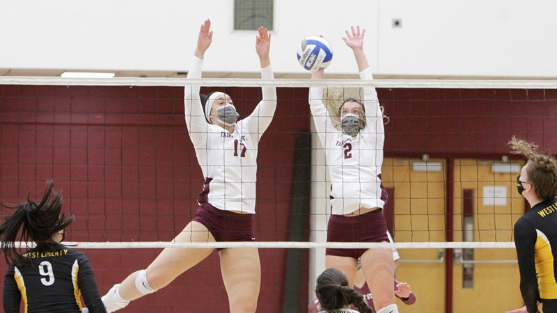 Falcon Volleyball Wins Share of MEC North Division Title - Fairmont State University Athletics
